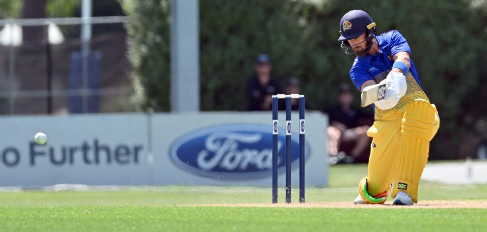 The return of Neil Broom, seen here in action against the Central Stags at University Oval last...