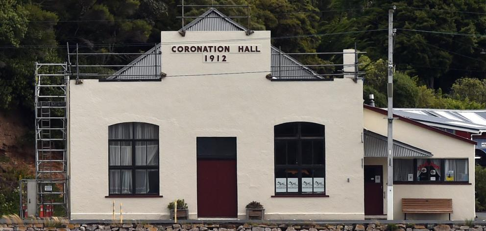 The Portobello Coronation Hall is closed while asbestos is removed from the building. PHOTO:...