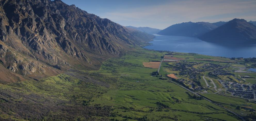 The owners of Remarkables Station are giving 900ha of the property to the Queen Elizabeth II National Trust. PHOTO: SUPPLIED