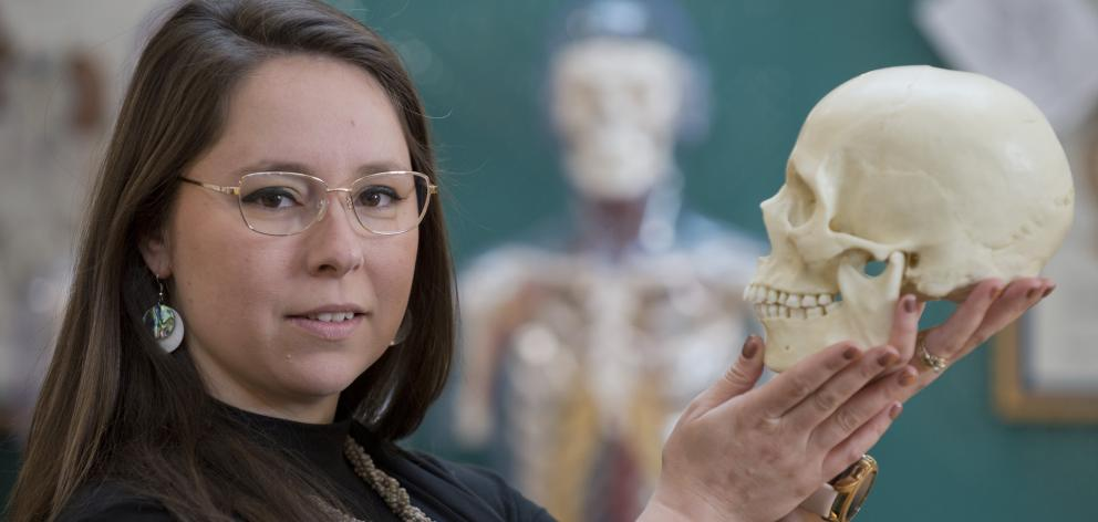Jade De La Paz is seeking to strengthen the science used to identify crime victims and missing...