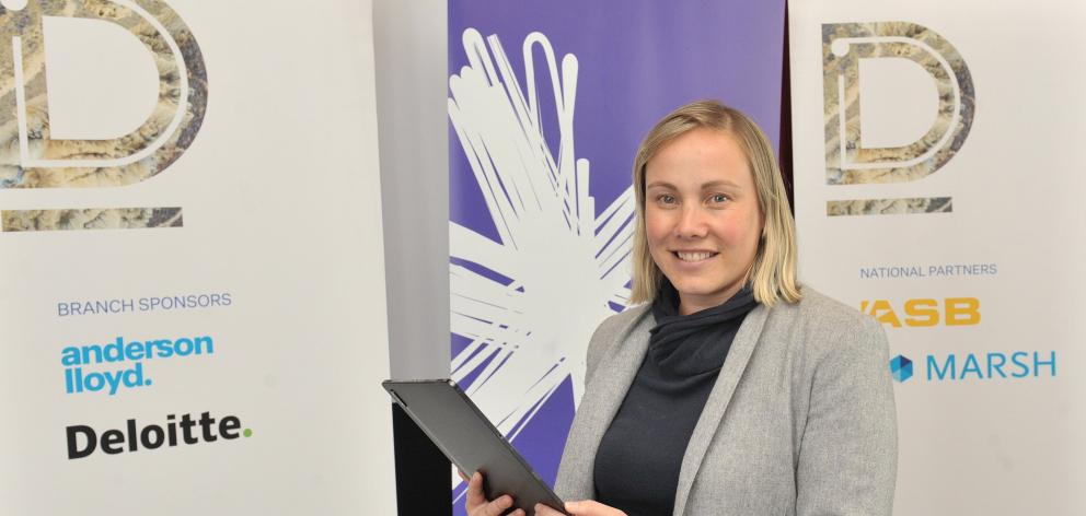 Spark's Renee Mateparae was in Dunedin on Monday talking to business leaders as part of an...