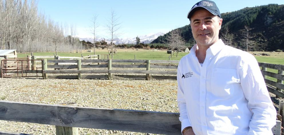 Lincoln University's head of Centre of Excellence for Designing Future Productive Landscapes Prof Pablo Gregorini wants to change our view of livestock production in our landscape. PHOTO: KERRIE WATERWORTH