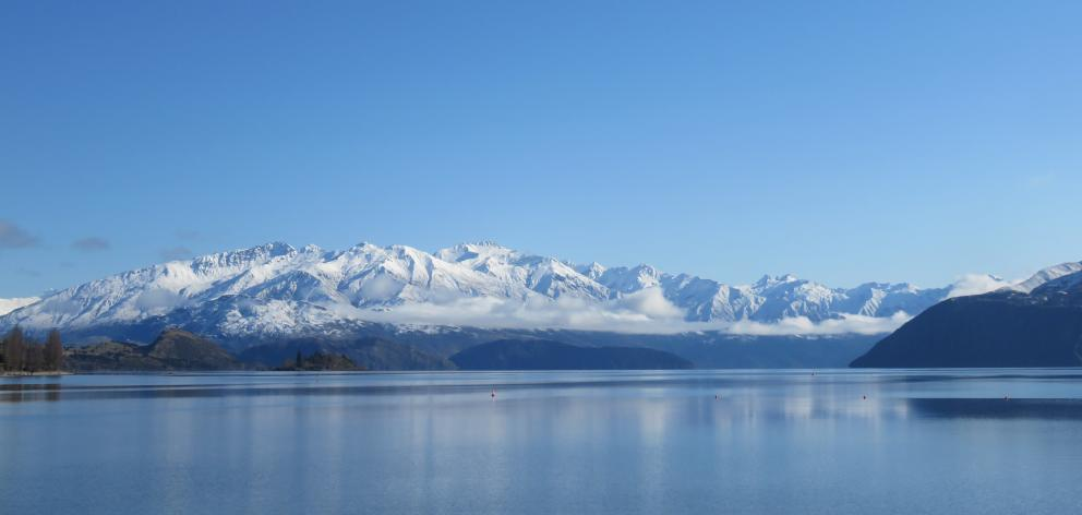 Lake Wanaka was picture-perfect on the day we rode to  Aspiring Hut. PHOTOS: JUSTINE TYERMAN