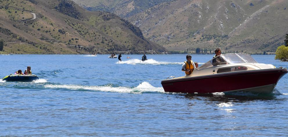Lake Dunstan, like other lakes and waterways in the South, is attracting increasing numbers of...