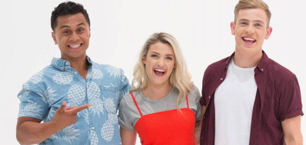 What Now presenter Erin Wells, seen here with co-presenters Ronnie Taufao and Chris Kirk, returns...