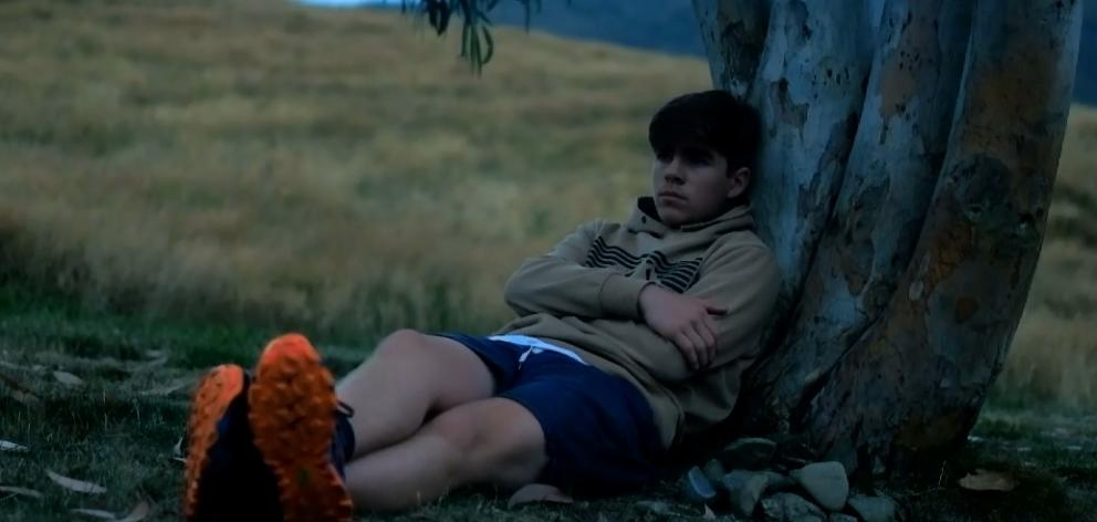 Kane Viggers staring in his film 'Miss You'. Phot / NZ On Screen