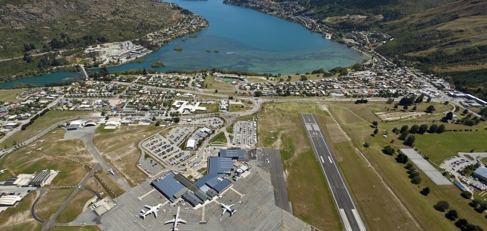Queenstown Airport. PHOTO: SUPPLIED