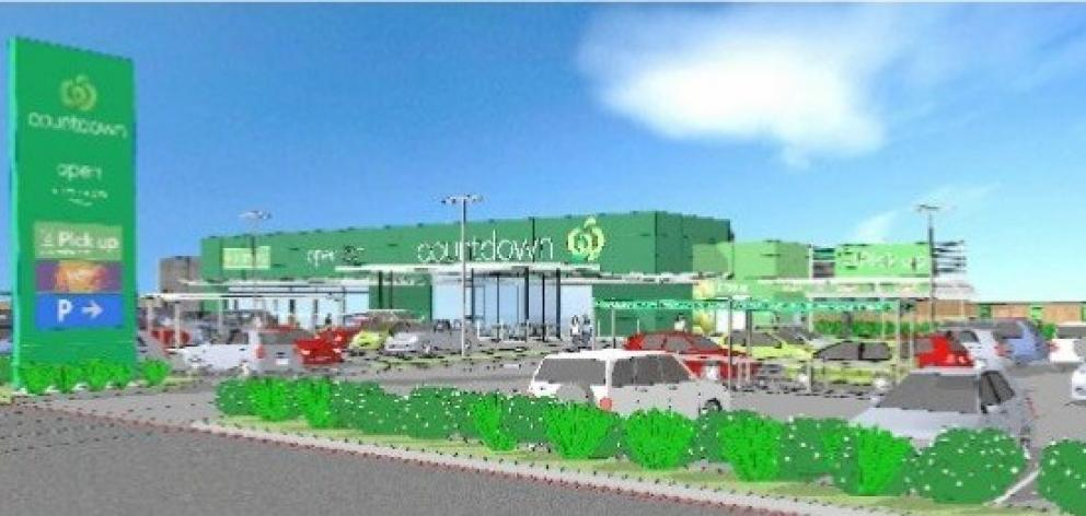 The 3000sqm Countdown store between Centennial Ave and Ventry St, Alexandra, has been granted...