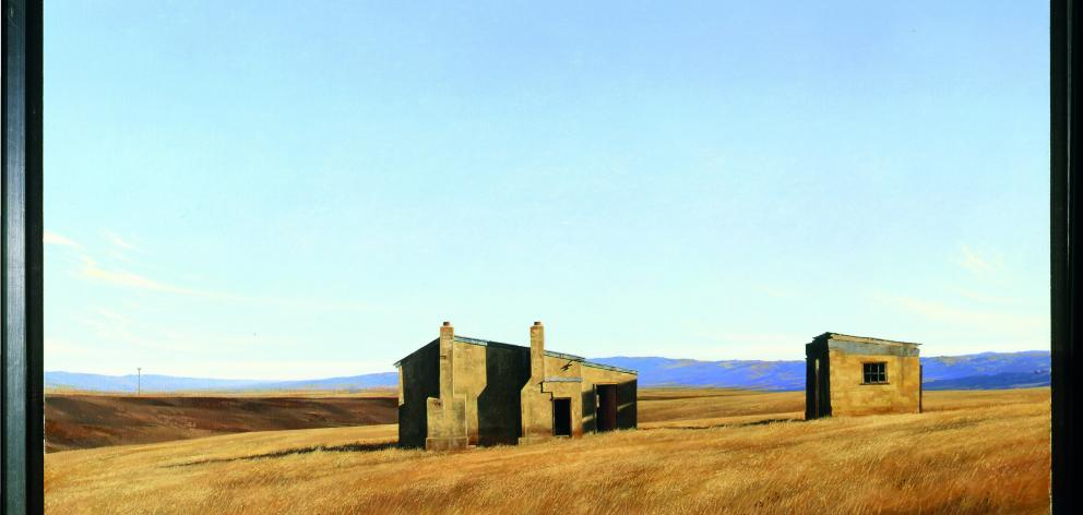 Homestead Maniototo, by Grahame Sydney