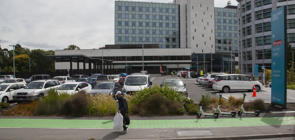 Concerns have been raised over the cost of car parking at Christchurch Hospital's new Waipapa...