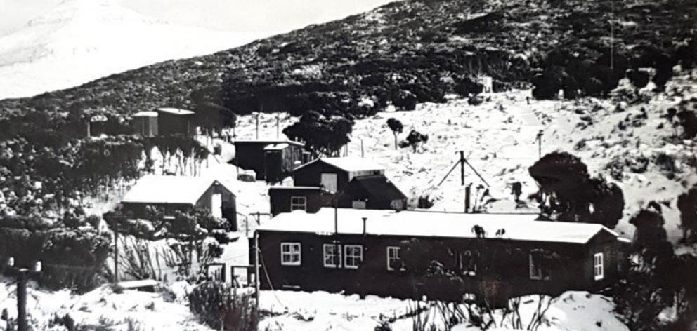 The photograph ofthe Tucker Cove weather station which Joanne Laing remembers hanging in the family home.  PHOTO: SUPPLIED