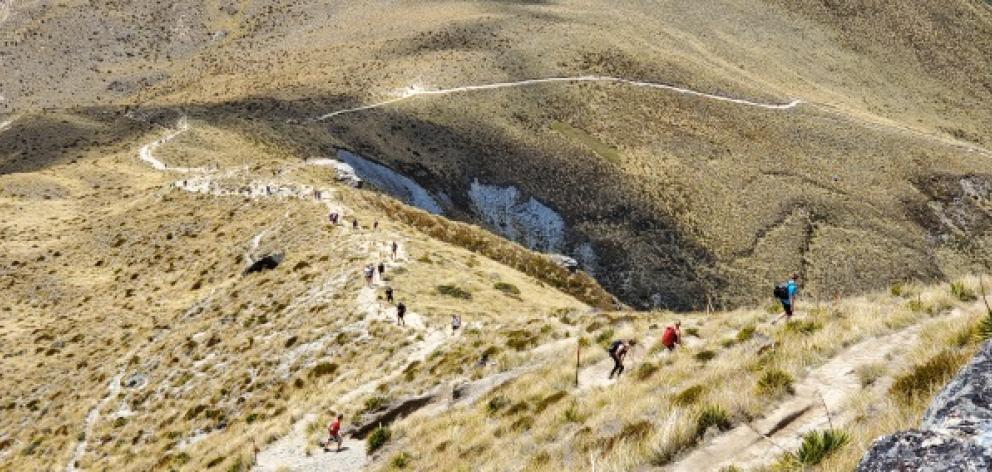 Department of Conservation's confirmed a loo will be installed on Ben Lomond. Photo: Mountain Scene