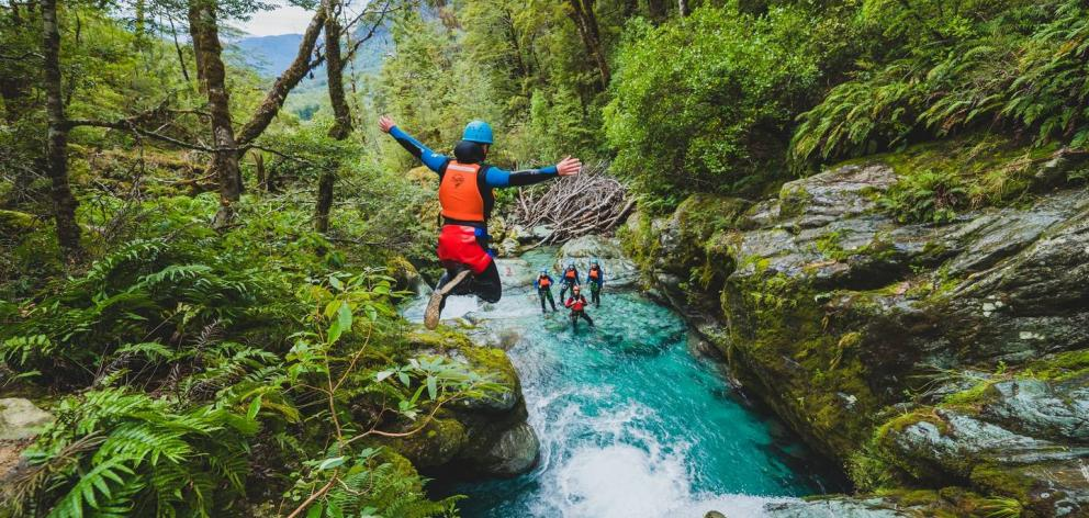 Canyon Explorers has been leading adventure tours since the 1990s. Photo / Supplied, Queenstown NZ