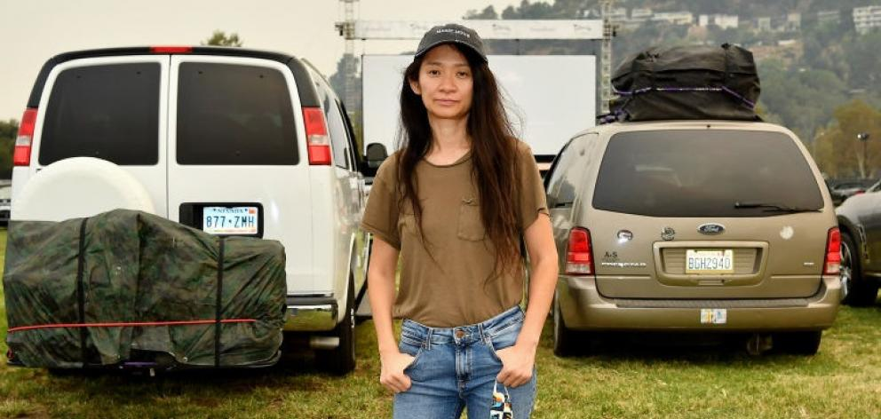 Chloé Zhao is nominated for directing Nomadland. Photo: Getty Images