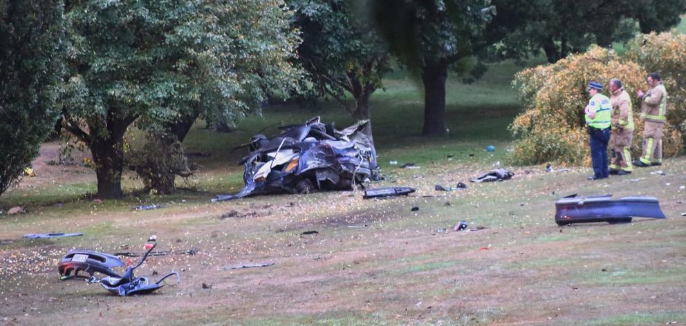 A crash investigation found Luke Savigny hit speeds of 150kmh before the collision. PHOTO:...