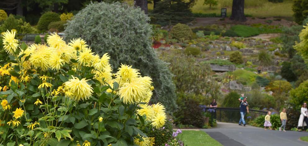 The New Zealand Gardens Trust has reaffirmed its judgement that the Dunedin Botanic Garden is one...