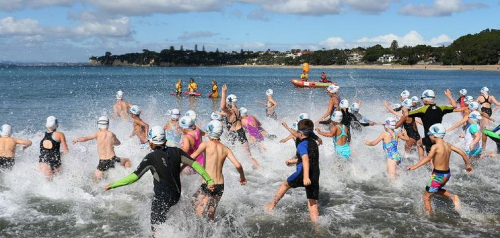 The Banana Boat New Zealand Ocean Swim Series. Photo: Supplied