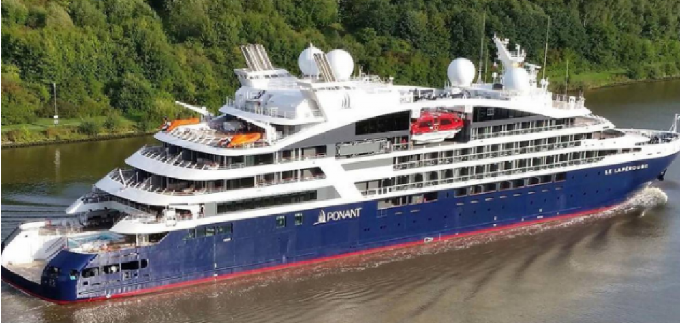 Le Lapérouse is a 264 passenger ship operated by cruise company Ponant. Photo: Supplied