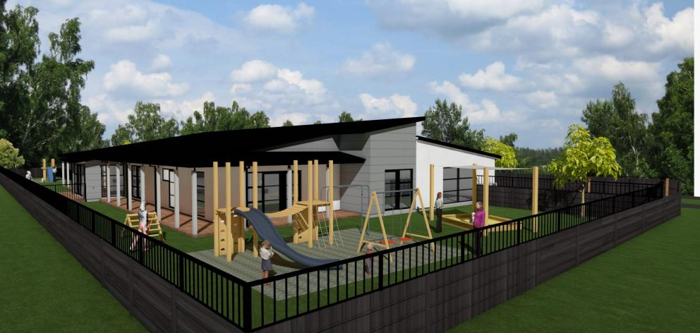 An artist's impression of the Flemington pre-school. Image: Supplied