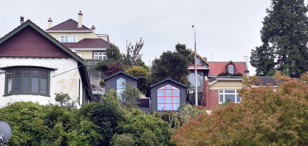 The houses were deliberately lined up with neighbouring ones so they would not dominate the rest...