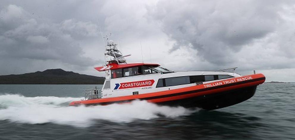 The crews were transferred onto the Coastguard's rescue vessel, Trillian Trust Rescue, in good...