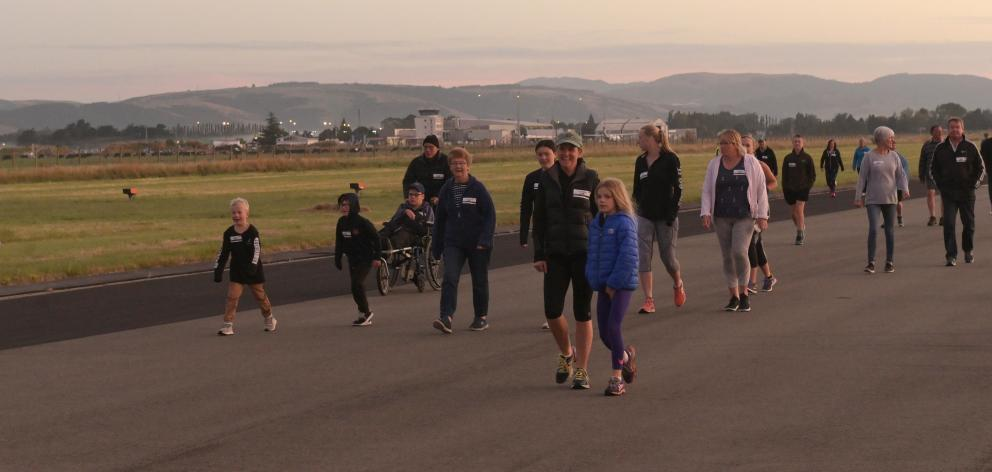 Run the Runway takes place at the later time of 8pm this year. PHOTO: OTAGO DAILY TIMES FILES