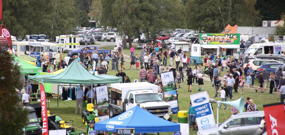 The A&P showgrounds in Fairlie are packed for the biggest one-day show in New Zealand with more...