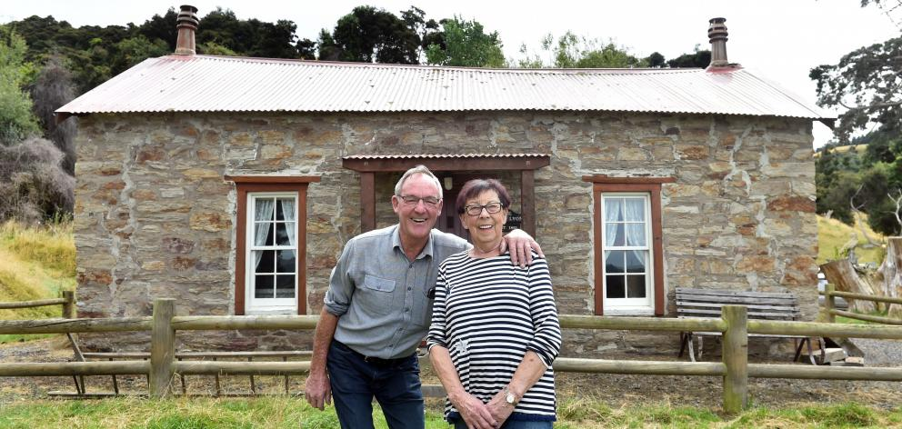 Kevan and Lynette McAlwee spent a year restoring their early 1860s cottage. Photo: Peter McIntosh...