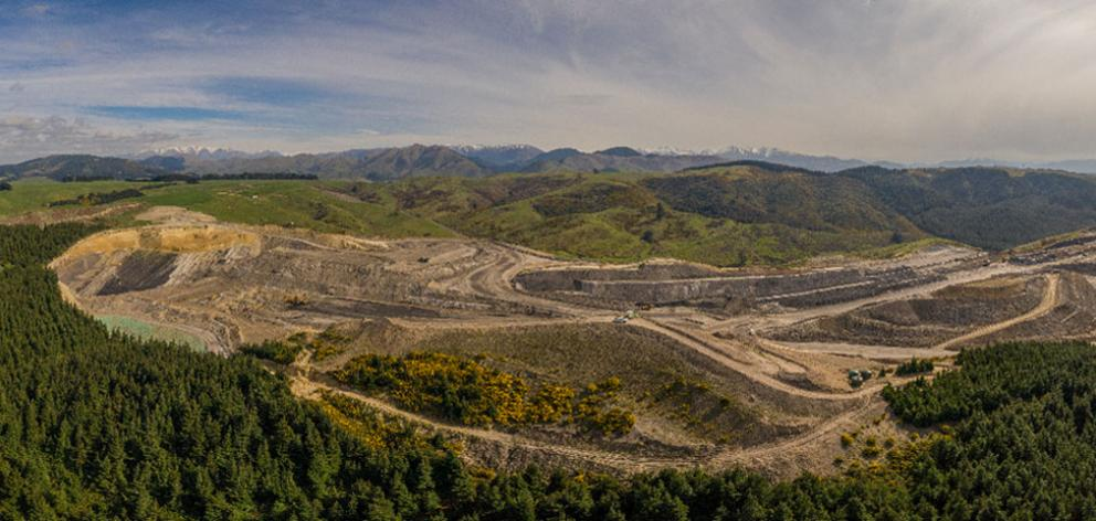 The Bathurst Resources coal mine. Photo: Supplied