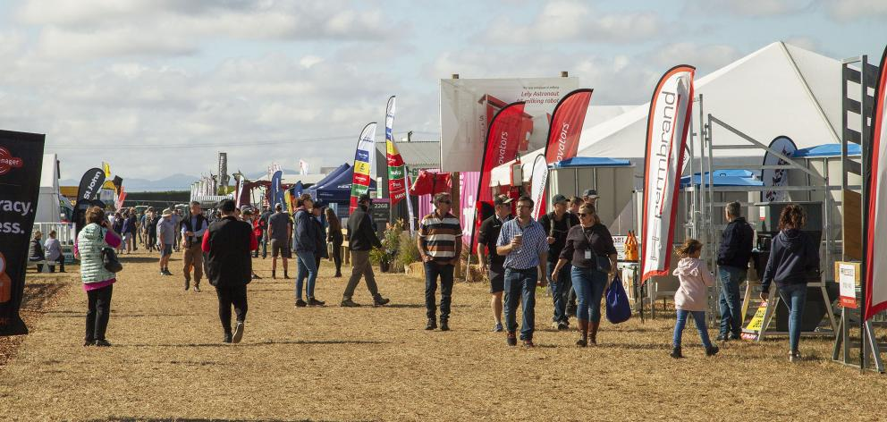 Up to 30,000 people are expected to turn up over the three-day event. Photo: Geoff Sloan