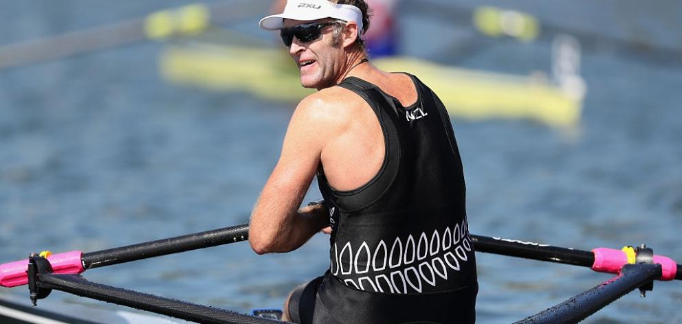 Mahe Drysdaleis hopeful Rowing New Zealand will see things his way. Photo: Getty Images