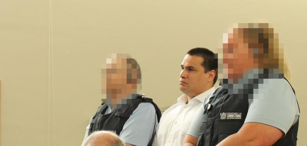 Invercargill man Samuel Samson appears on the first day of a High Court jury trial in...