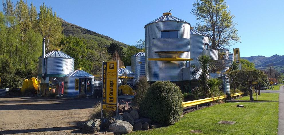 Silostay is surely one of the quirkiest accommodation options in New Zealand.