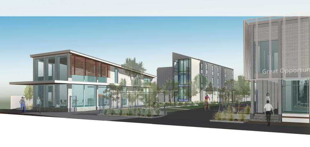An artist's impression of the new city mission facilities. Image: Christchurch City Mission