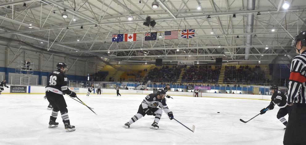 The New Zealand Ice Blacks, the New Zealand under-20 men's team and the New Zealand under-18 men...