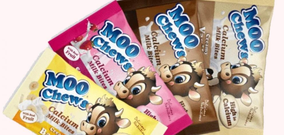 A Gloriavale company has lost a contract to make Moo Chews children snacks after questions about their employment practices. Photo: Supplied