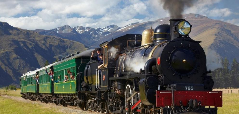 The historic Kingston Flyer will carry passengers for the first time in eight years today. Photo:...