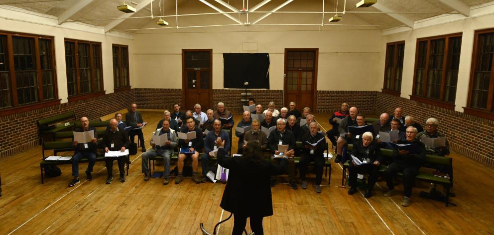 RSA Choir. Photo: ODT files.