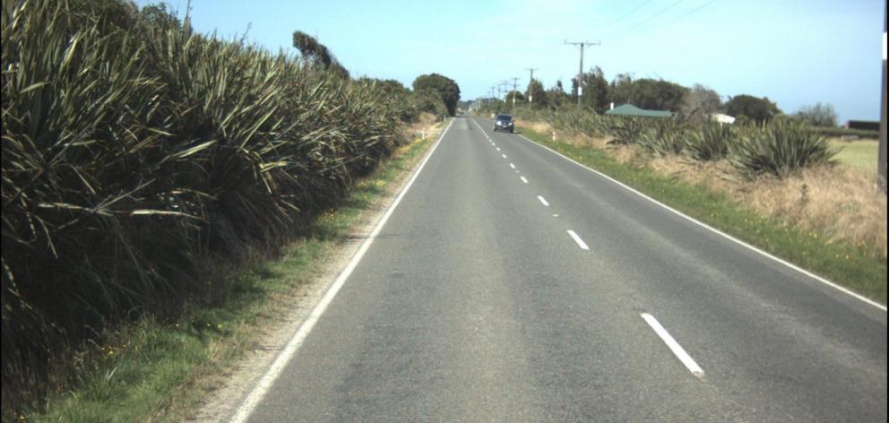 State Highway 99 north of Te Waewae Bay. Photo: NZTA