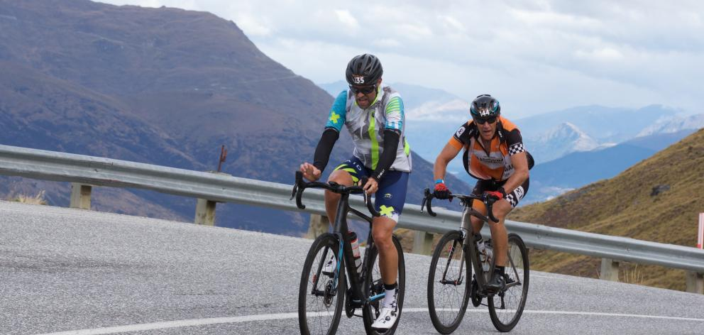 About 160 cyclists taking part in the national charity ride. Photo: Supplied