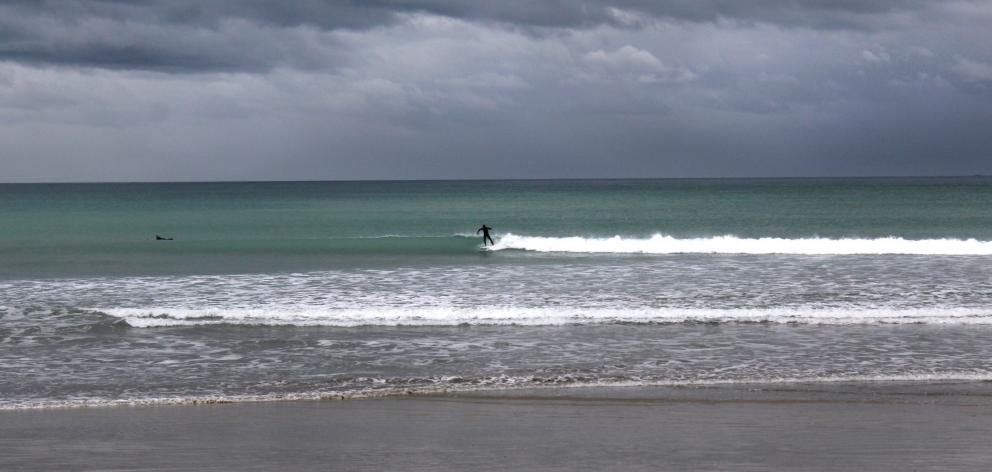 Colac Bay is a popular surfing spot. In the middle of the day on Tuesday, 10 people were out...