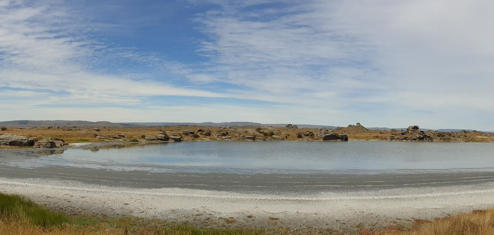 The mineral accumulation of Sutton Salt Lake makes for an interesting water feature around which...