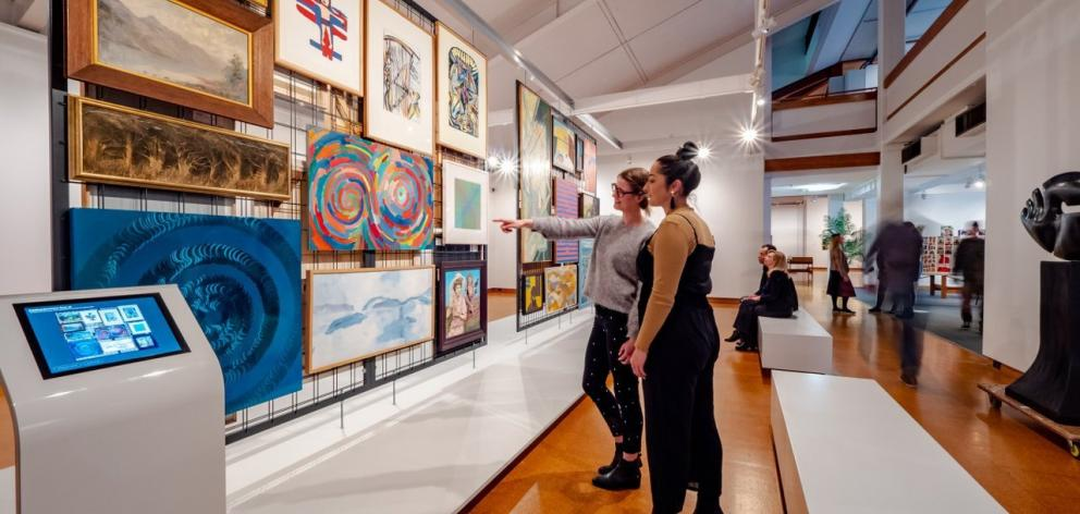 Te Manawa art Gallery.
