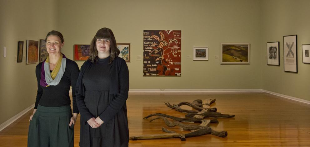 Dunedin Public Art Gallery curators Lucy Hammonds and Laura Gutsell are looking ...