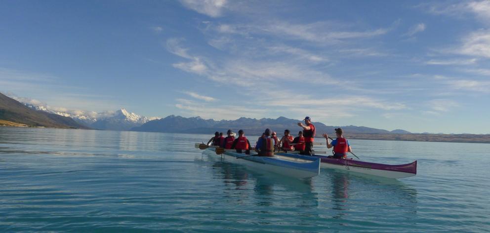Nic Low's new book retraces the steps of his Ngāi Tahu ancestors, including paddling across Lake...