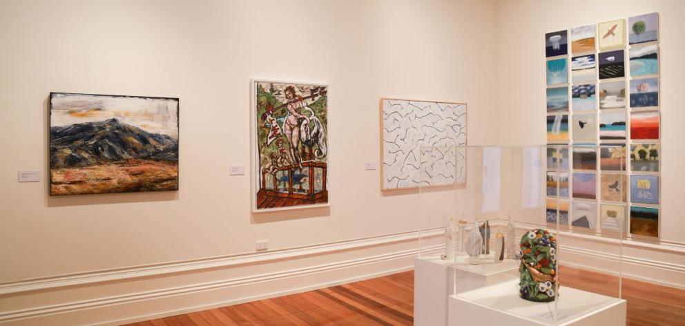 Indigo's exhibition at Forrester Gallery shows the diversity of Central Otago art. PHOTO: REBECCA...