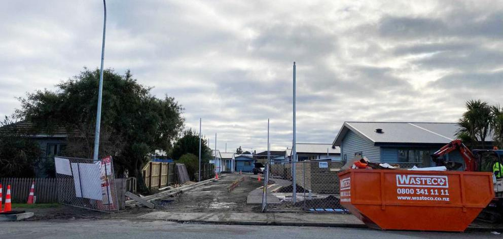 Emergency services responded to the incident on Dale St in Kaiapoi at about 9am on Tuesday. Photo...