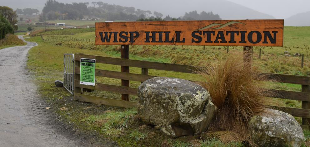 An application for the acquisition of the 5500ha sheep and beef farm Wisp Hill Station in Owaka Valley had been lodged with the Overseas Investment Office. PHOTO: SHAWN MCAVINUE