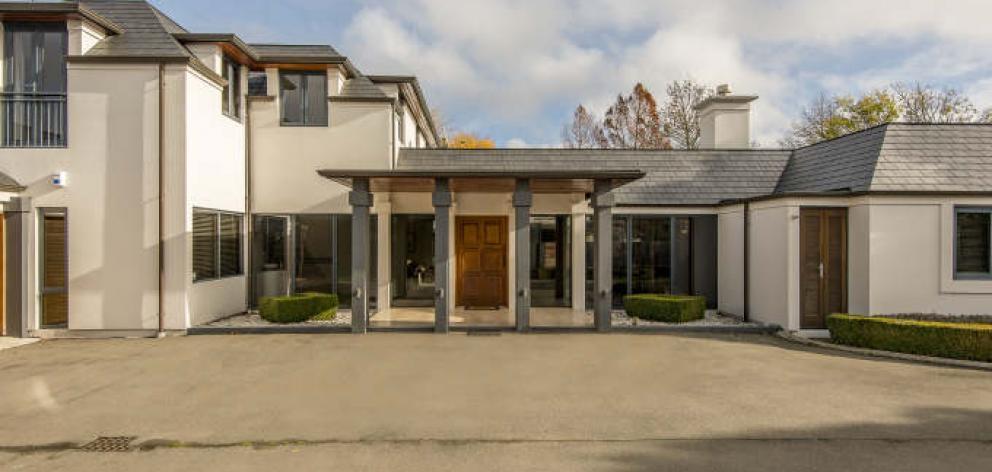 This home in Clyde Rd, Fendalton, was snapped up by repairers last week. Photo: Supplied
