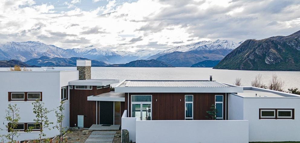 Wanaka's Dunlop Builders won the supreme award for renovation for this home overlooking Lake...